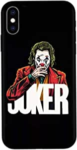JOKER SMOKE DESIGN -LIMITED EDITION -PREMIUM SLIM CASE for iPhone XS MAX