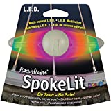 Nite Ize SpokeLit LED Wheel Light Color:Disco Size:Pack of 1