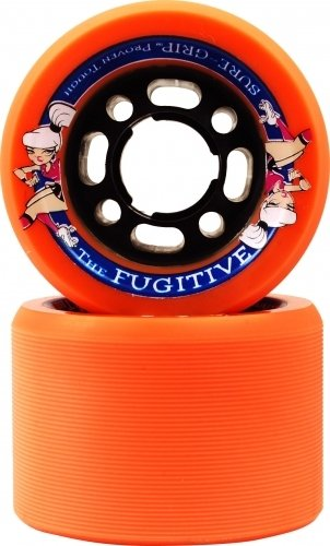 Sure-Grip Fugitive Wheels (Orange, max 62mm)
