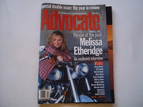 The Advocate (Double Issue Nos. 698 & 699, January 23, 1996): The National Gay and Lesbian Newsmagazine (Magazine) (Melissa Etheridge Cover Story and Exclusive Interview)