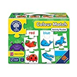 Orchard Color Match 5-Piece First Color Puzzles, 12 in A Box