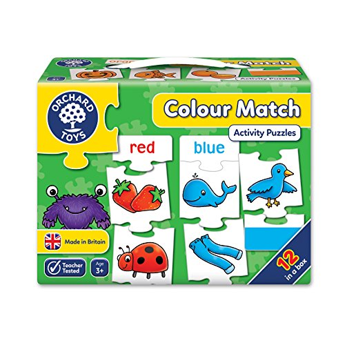 Orchard Toys Colour Match Puzzle (12 ()