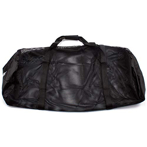 2ac5d69f8b55 Heavy-Duty Mesh Duffle Bag. Great for Sports Equipment, Scuba Diving,  Snorkeling, Swimming and More