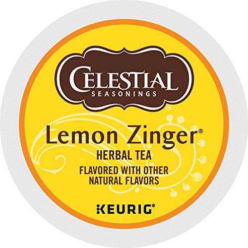- Celestial Lemon Zinger Tea - 18 ct