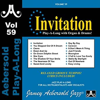 Invitation vol 59 by hank marr steve davis jamey aebersold play you have exceeded the maximum number of mp3 items in your mp3 cart please click here to manage your mp3 cart content stopboris Choice Image