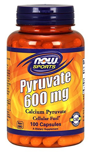 NOW Sports Pyruvate 600 Mg, 100 Capsules by NOW Foods