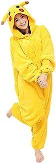 Yimidear Unisex Adult Pajamas Cosplay Costume Pikachu Onesie Sleepwear  sc 1 st  Amazon.com & Amazon.com: NEW Japan Pokemon Pikachu Adult Cosplay Costume ALL ...