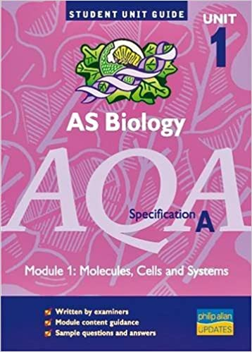 AQA (A) AS Biology, Module 1: Molecules, Cells and Systems (Student Unit Guide)
