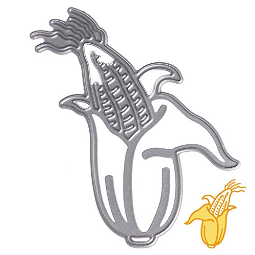 Corn Scrapbook - Mimgo Corn Cutting Dies Stencil Tags Set Metal Mould for DIY Scrapbook Album Card