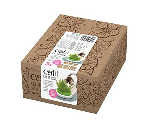 Catit Senses 2.0 Cat Grass Kit (Set of 3)