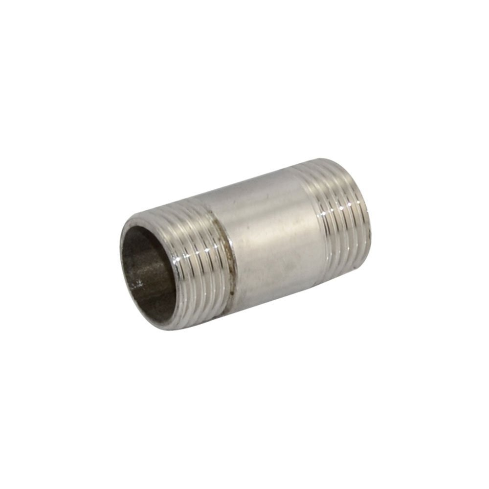 Threaded Nipple 1/2''Male x 1/2''Male Pipe Fitting with NPT Stainless Steel SS304