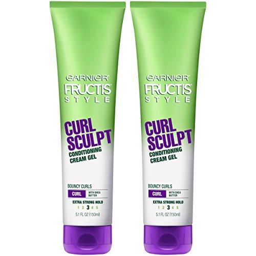 Garnier Hair Care Fructis Style Curl Sculpt Conditioning Cream Gel, 2 Count