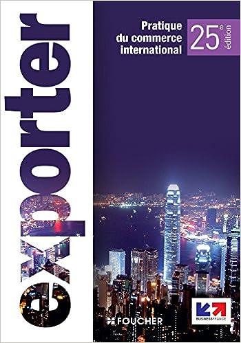 Téléchargement Exporter 25e édition pdf