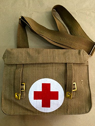 (WWII British Medic Bag - Repro.)