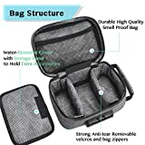 Smell Proof Bag with Combination Lock Odor Proof
