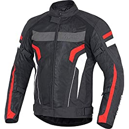 Vykon Induction Jacket: Black/Red/White (X-Large)