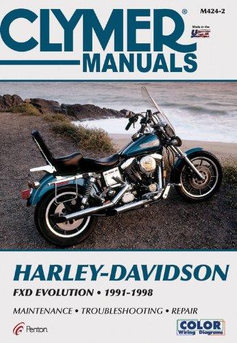 - Harley Davidson FXD Evolution 1991-1998 (Motorcycle)