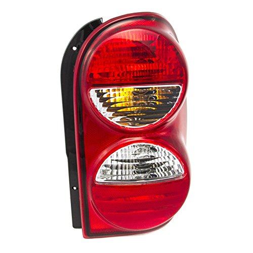 CarPartsDepot Fit 05-07 Jeep Liberty SUV Rear Tail Brake Light Lamp Passenger Side CH2801158