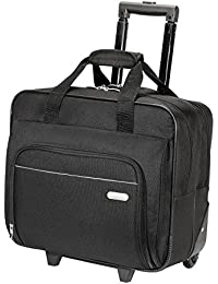 Metro Rolling Case for 16-Inch Laptop, Black (TBR003US)