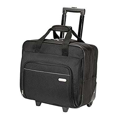 Targus Metro Roller Laptop Case for 16-Inch Laptop, Black (TBR003US)