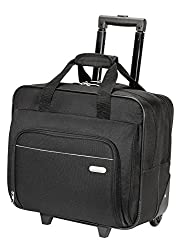 Targus Metro Rolling Case For 16-inch Laptop, Black (Tbr003us)