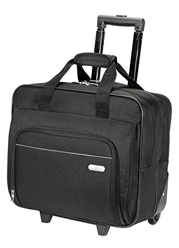 (Targus Metro Rolling Case for 16-Inch Laptop, Black (TBR003US) )