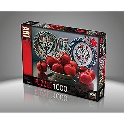 Jigsaw Puzzle 1000 Pieces Porcelain And Pomegranates