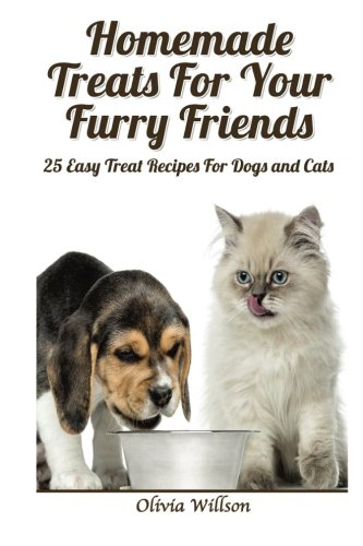 Homemade Treats For Your Furry Friends:: 25 Easy Treat Recipes For Cats and ()
