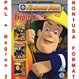 Fireman Sam - CGI Triple Pack [NON-U.S.A. FORMAT: PAL Region 2 U.K. Import] (Includes: The New Hero Next Door / Red Alert / Sticky Situation)