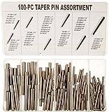 HHIP 8070-0034 100 Piece Taper Pin Assortment