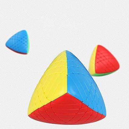 Alician 6X6X6 Special Zongzi Shape Brain Teaser Magic Cube Puzzle Toy