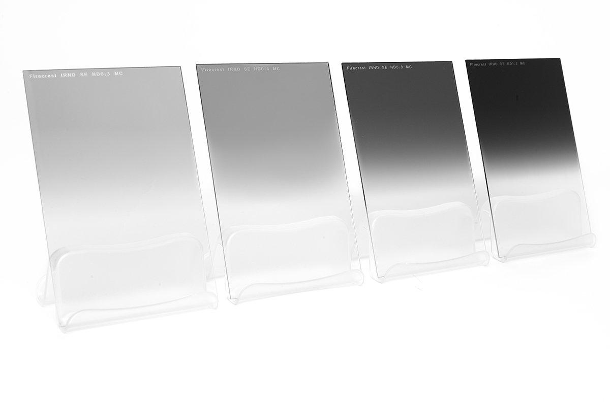 Formatt-Hitech 100x125mm (4x5'') Firecrest Neutral Density Soft Edge Grad Kit of 4 filters 1 to 4 stops