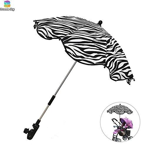 Zebra Print Umbrella Stroller - 2