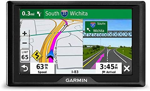 "Garmin Drive 52: GPS Navigator with 5"" Display Features Model:010-02036-06-cr (Renewed)"