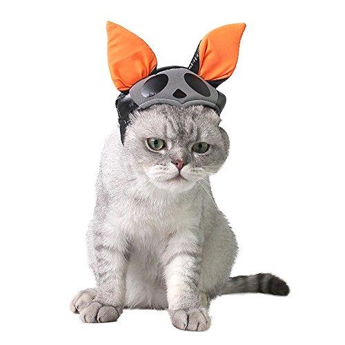 Halloween Pet Bat Hat Cat Dog Bat Costume