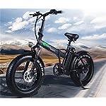 XXCY-Pieghevole-Bici-elettrica-500-w-e-Bike-20-40-Pneumatico-Grasso-48v-15ah-Batteria-Display-LCD-con-5-Livelli-di-velocit-di-PAS