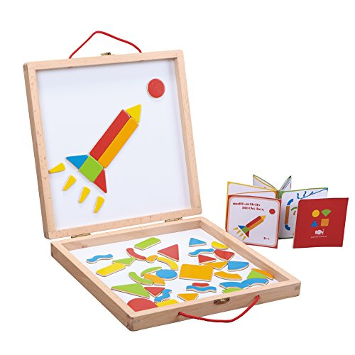Fat Brain Toys Magnetic Creation Station Arts & Crafts for Ages 3 to 4 -