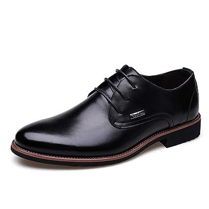 14d178d8cda6a Amazon.com: Starttwin Men Dress Shoes Autumn Winter Classic Casual ...