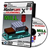 Mastercam For Solidworks X8-X9 - Mill Video Tutorial HD DVD
