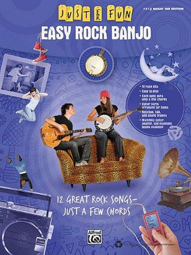 Just For Fun: Easy Rock Banjoeasy Banjo Tab Edition