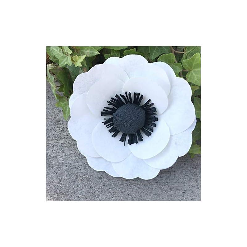 silk flower arrangements paper anemone
