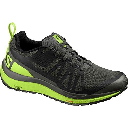Salomon Odyssey Pro Hiking Shoe - Men's Beluga/Lime Green/Black 13
