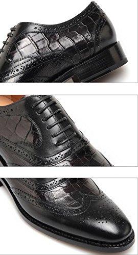 Chaussures Habillées En Cuir Véritable De Qualité Nbwe Chaussures Pour Hommes Daffaires Personnalisés Marié À La Main Des Chaussures De Mariage Chaussures De Soirée De Luxe Noir