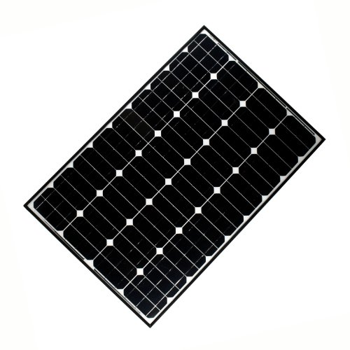 ALEKO SP100W12V 100 Watt 12 Volt Monocrystalline Solar Panel for Gate Opener Pool Garden Driveway