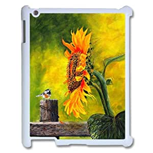 Good mood with sunflower Case Cover Best For Ipad 2/3/4 Case KHR-U552408