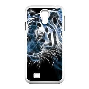 Samsung Galaxy S4 Case Tiger, Tiger Art Stevebrown5v, {White}