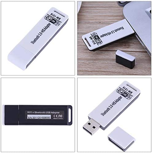150Mbps USB 2.0 Wireless Bluetooth 3.0 Network Card WiFi Signal Receiver Frequency 2.4~2.4835GHz Computer Networking Cards Sala-Deco