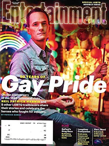 Entertainment WEEKLY Magazine (June 14-21, 2019) NEIL PATRICK HARRIS Cover, 50 Years of Gay Pride, LGBTQ Trailblazers