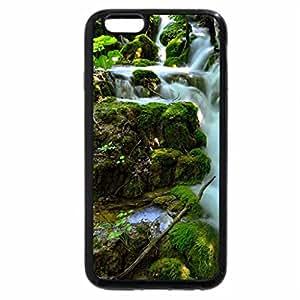 iPhone 6S / iPhone 6 Case (Black) RIVER CASCADE