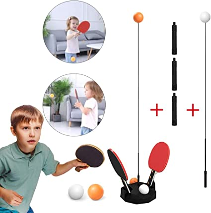 Table Tennis Ping Pong Training Robot Fixed Rapid Rebound Trainer Equipment NEW